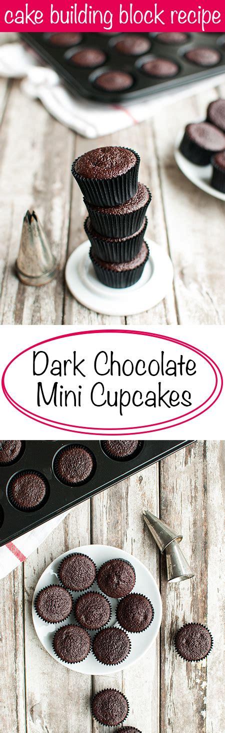 mini chocolate cupcakes  tough cookie