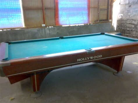 second hand snooker table for sale billiard table hollywood for sale from manila metropolitan