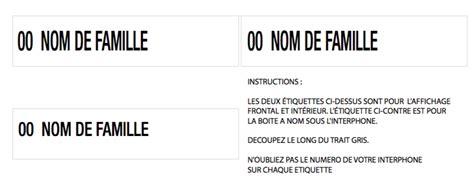 modele etiquette boite aux lettres mod 232 les d 233 tiquettes pour les bo 238 tes aux lettres et la