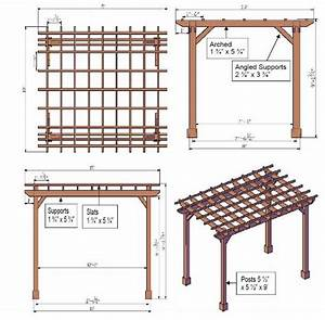 Drawing Your Own Pergola Plans