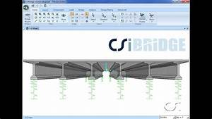 Composite Bridge Deck Design Csibridge 04 Design Of Precast Concrete Composite Girder