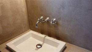 Beton Cire Deco : mur en beton cire meilleures images d 39 inspiration pour ~ Premium-room.com Idées de Décoration