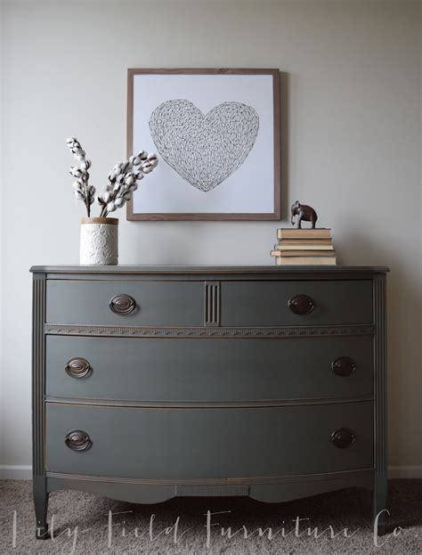 sherwin williams cast iron dresser color matched by country chic chalk paint field co
