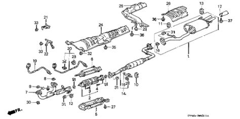Honda Online Store Accord Exhaust Pipe Parts