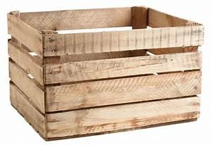 Ikea Caisse Bois : caisse en bois rustique ~ Melissatoandfro.com Idées de Décoration