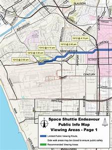 Space shuttle Endeavour embarks on Los Angeles road trip ...