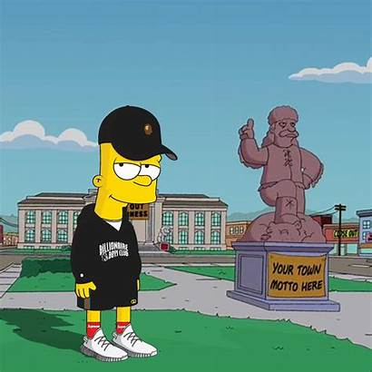 Bart Supreme Simpson Wallpapers Simpsons Hypebeast Gucci