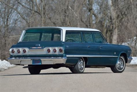 1963 Chevrolet Impala 409 Wagon  Bring A Trailer
