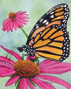Original Butterfly Painting, Butterfly Art, Watercolor ...