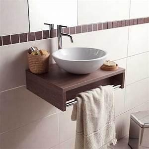 Plan Vasque Bois : plan lave mains evasion sans vasque bois clair ~ Premium-room.com Idées de Décoration