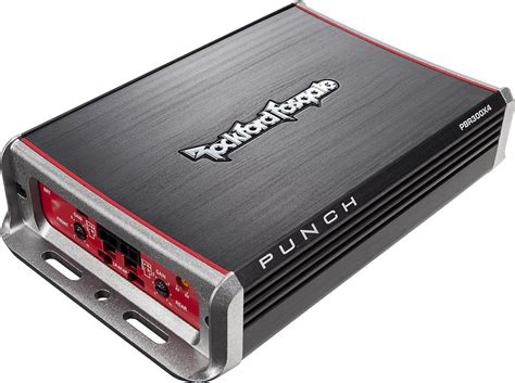 Rockford Fosgate Punch Pbrx Channel Amplifier