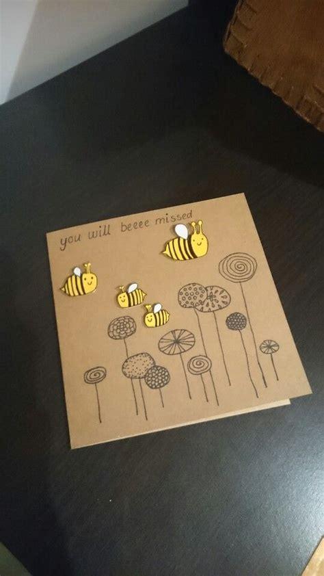 farewell card ideas  pinterest goodbye cards