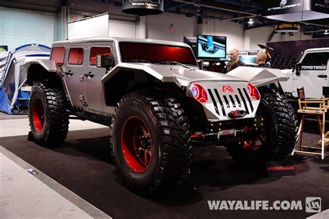 Fab Fours Legend by 2014 Sema Fab Fours Legend Jeep Jk Wrangler Unlimited