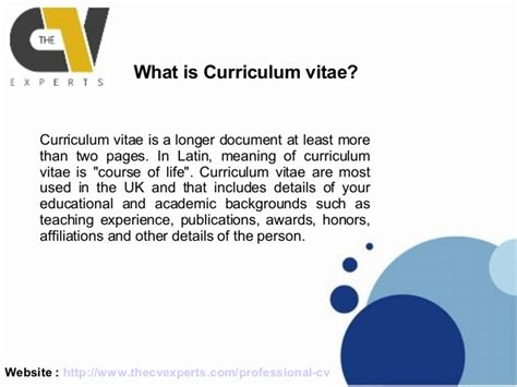 Difference Between Curriculum Vitae And Vita by How Is A Cv Different Than A Resume Cv Resume Template Exles