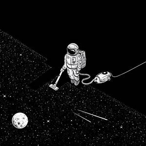 Astronaut Illustration Tumblr - Pics about space