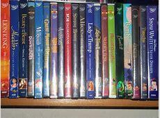 DISNEY DVD COLLECTION SO FAR 13 by bvw1979 on DeviantArt