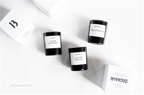 home interiors candle byredo mini candle trio bibliothèque cotton poplin and
