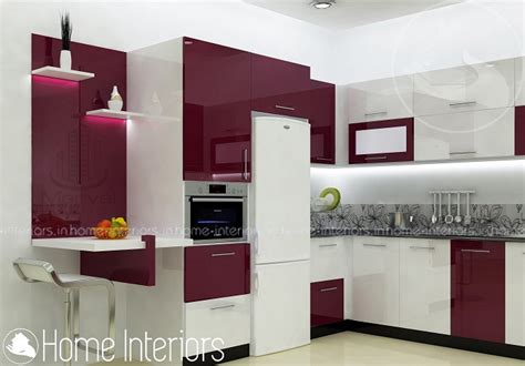 Home Interiors Kitchen by Fascinating Contemporary Budget Home Kitchen Interior Design