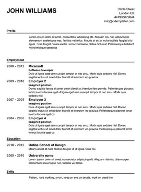 Find Resume Builder by Where Can You Find A Free Printable Resume Builder