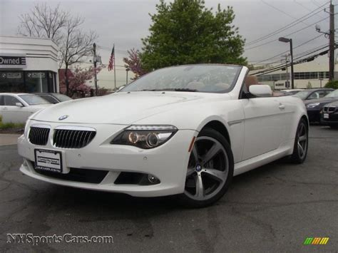 2008 Bmw 650i For Sale by 2008 Bmw 6 Series 650i Convertible In Alpine White