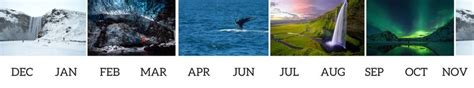 best month to see northern lights best time to visit iceland northern lights puffins