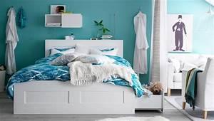 Französisches Bett Ikea : ikea sterreich inspiration schlafzimmer brimnes bettgestell mit 4 schubladen in wei mit ~ Markanthonyermac.com Haus und Dekorationen