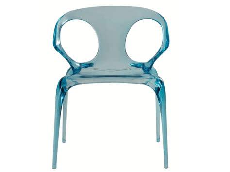 chaise design transparente en  modeles legers  limpides