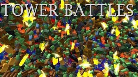 video tower battles  official roblox tower battles