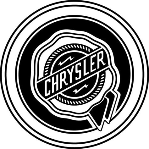 Chrysler Decals by Chrysler Decal Sticker Chrysler Logo Decal Thriftysigns