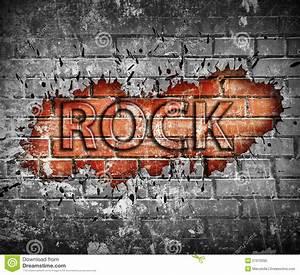 Grunge Rock Music Poster Royalty Free Stock Photo - Image