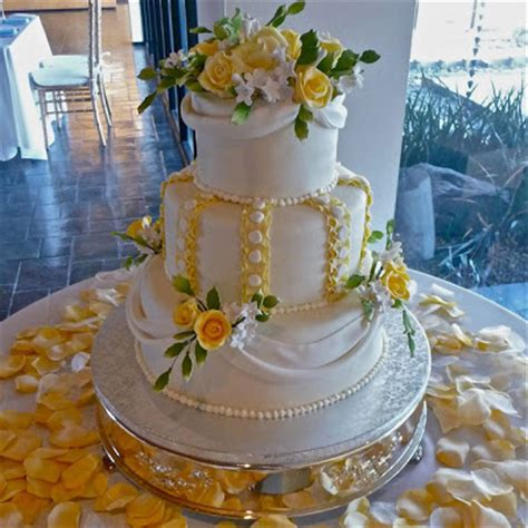 southern blue celebrations yellow cake ideas inspirations