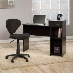 mainstays computer desk with sauder fabric task chair