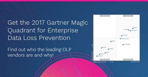 gartner magic quadrant  enterprise data loss prevention