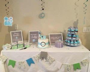 cute elephant themed baby shower decorations