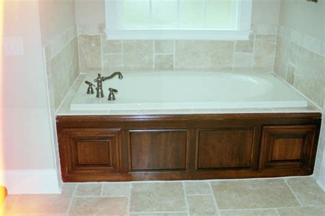 Bathtub panel from Custom Wood Designs LLC in Musella, GA