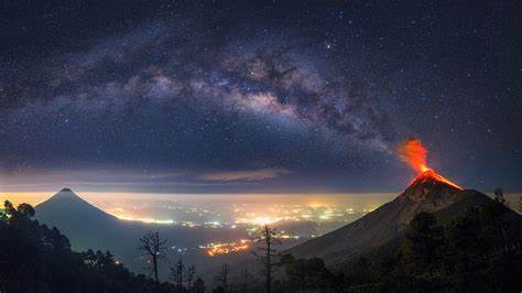 Milky Way Universe Charming Sky