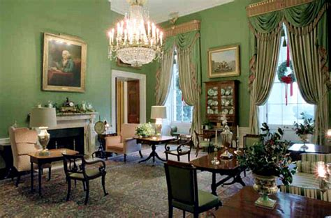 green room   white house  enchanted manor