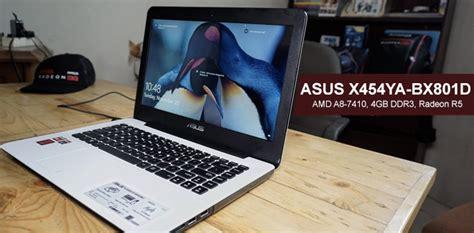 Harga Laptop Merk Hp Amd A8 asus x454ya bx801d laptop gaming murah dengan amd a8