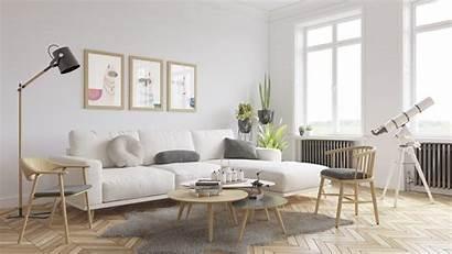 Living Scandinavian Vray Settings Interior Psd Low