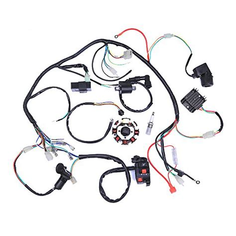 complete electrics coil cdi wiring harness atv klx stator