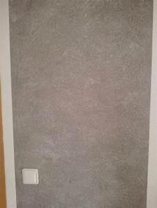 Graue Farbe Wand : wand wischtechnik in grau mit wei en effekt pigmenten direkt vom handy ~ Sanjose-hotels-ca.com Haus und Dekorationen