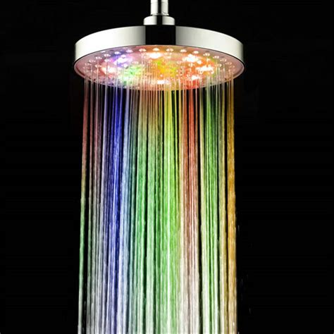 shower that changes color great led shower heads color changes shower faucet