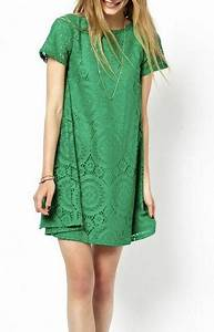 Robe Boheme Courte : robe courte dentelle evasee verte celebrites boho boheme ~ Melissatoandfro.com Idées de Décoration