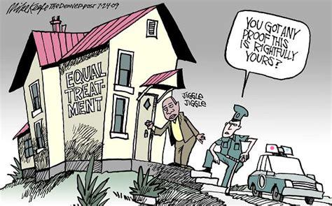 Mike Keefe Political Cartoon, 07/24/2009