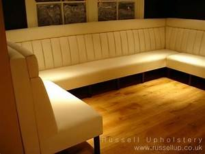 Booth Seating and Banquette Seating by Russell Upholstery