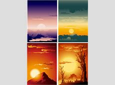 Sunset free vector download 287 Free vector for