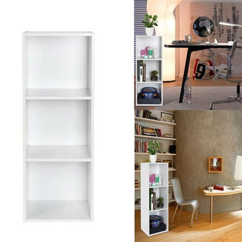 Bookcase Shelving Unit by 3tier White Bookcase Shelf Wooden Shelves Bookshelf Small