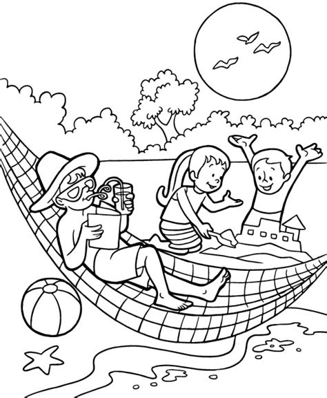 Summer Coloring Pages For 5th Grade  Coloring Pages