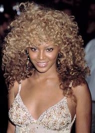 Beyonce Blonde Curly Hair