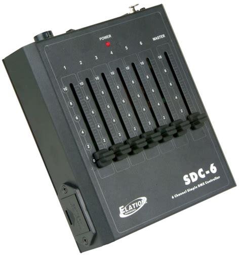 american dj light controller american dj sdc 6 dmx 6ch light controller fade dimmer ebay